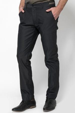 מכנסיים אלגנטיות סרט בחגורה