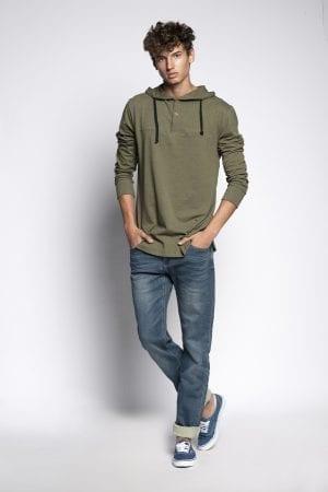 ג'ינס מבד ג'רסי