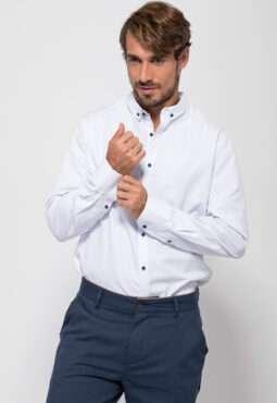 חולצת אריגה משבצות