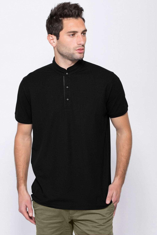 משהו רציני חולצת פולו פיקה צווארון סיני • רשת חנויות ZIP CJ-03