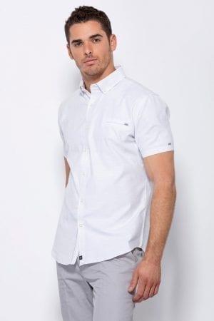 חולצת כפתרה עם טקסטורה