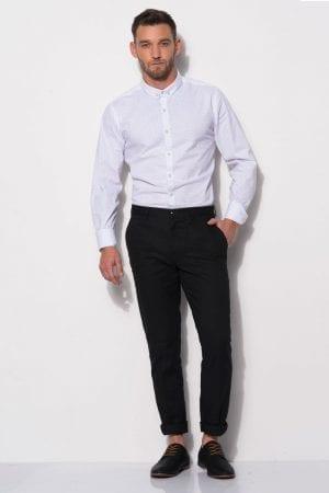 חולצת אריג לייקרה מודפסת