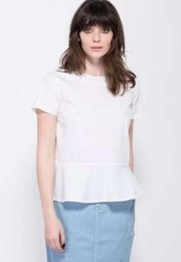 חולצת אריג סיומת פפלום