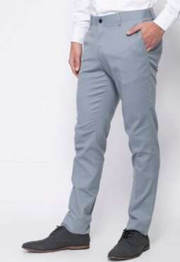 מכנסיים מחויטים רגל ישרה