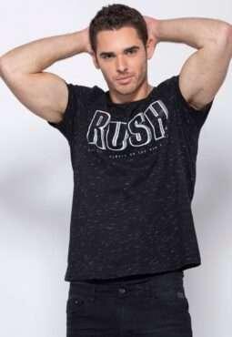 חולצת טי מלאנג´ מקווקו RUSH