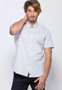 חולצת טקסטורה שני גוונים