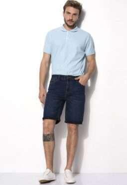 ברמודה ג'ינס כחול כהה
