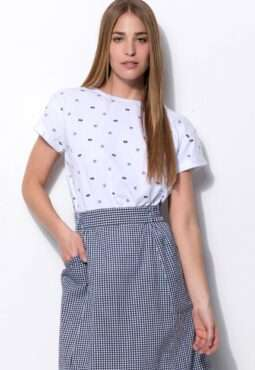 חולצת טי הדפס אול-אובר