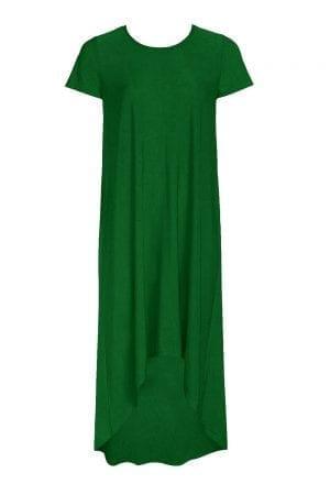שמלה אוברסייזית א-סימטרית