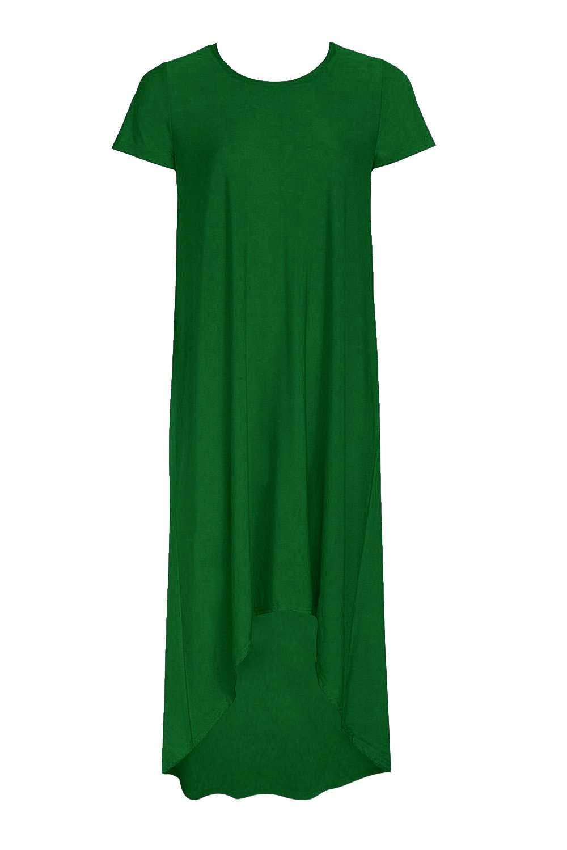 שמלה אוברסייזית סיומת א-סימטרית