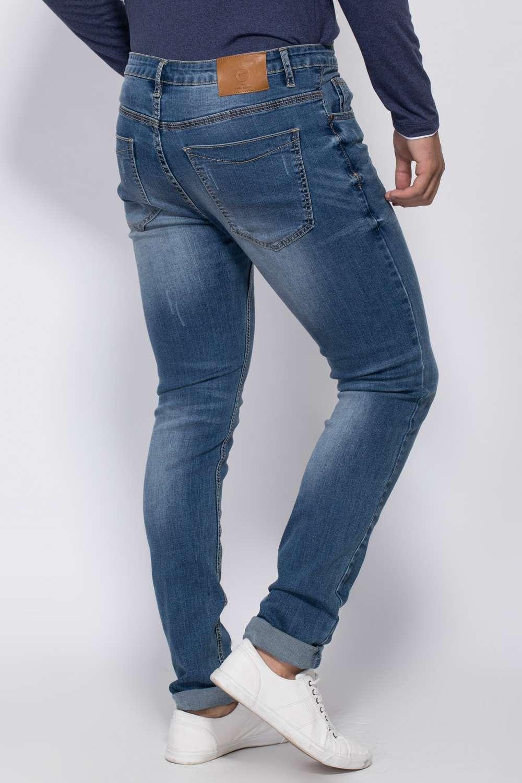 ג'ינס סקיני שפשופים