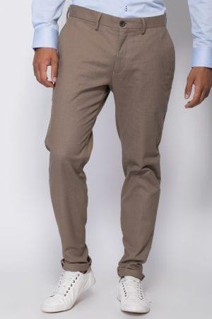 מכנסיים אלגנטיות טקסטורה