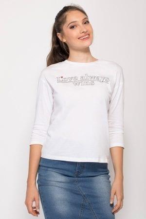 חולצת טי Graphic Print