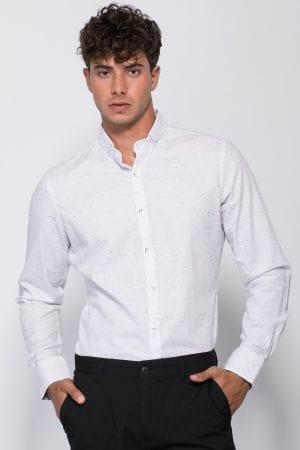 חולצת אריג טקסטורה dots dots