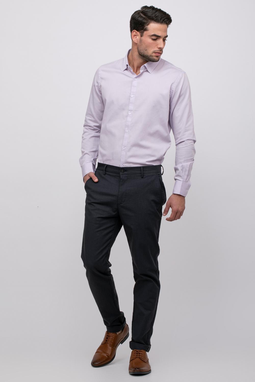 חולצה מכופתרת אלגנטית עם דוגמא