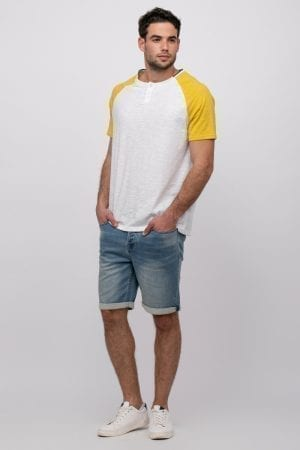 חולצת טי קולג' רגלן