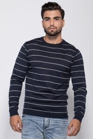 גבר סוודר פסים- פרומו