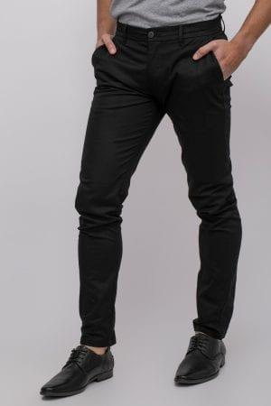 מכנסיים אלגנטיים עם טקסטורה