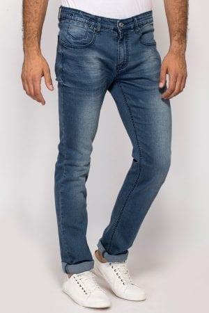 ג'ינס סקיני כחול