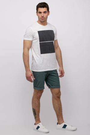 חולצת טי הדפס פלוק