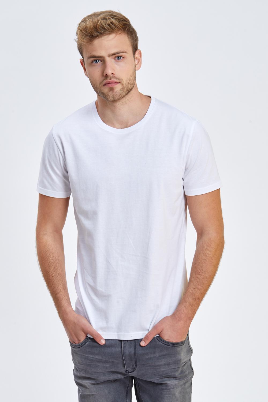 חולצת טי צווארון עגול