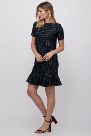שמלה בשילוב לורקס עם מכפלת פפלום