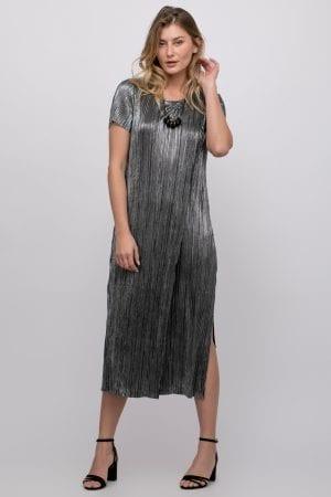 שמלה פליסה מבד לורקס