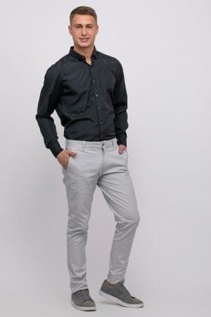 מכנסיים אלגנטיות עם טקסטורה