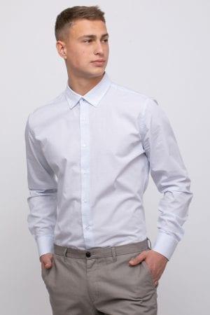חולצה מכופתרת עם דוגמא