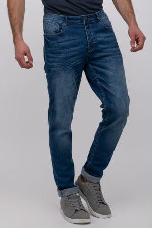 ג'ינס כחול סקיני