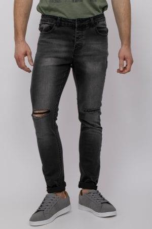 ג'ינס סופר סקיני כהה