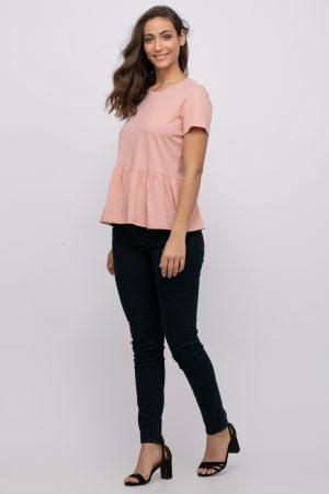 חולצת פפלום אוברסייזית