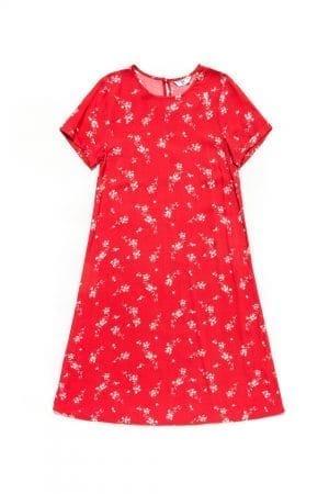 שמלת קיץ פרחונית