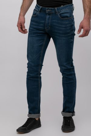 ג'ינס לייקרה כחול
