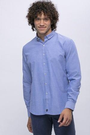חולצה מכופתרת אוקספורד קלאסית