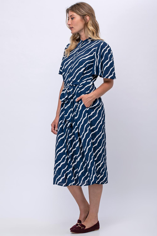 שמלת מידי זברה