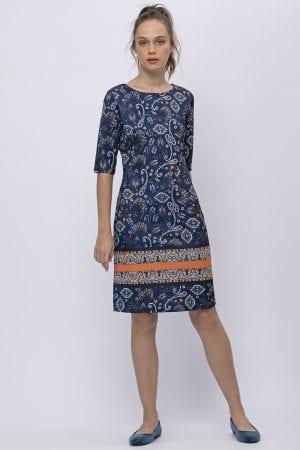 שמלה מודפסת