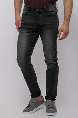 ג'ינס שחור משופשף