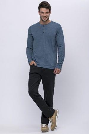 ג'ינס בסיס גזרה רחבה