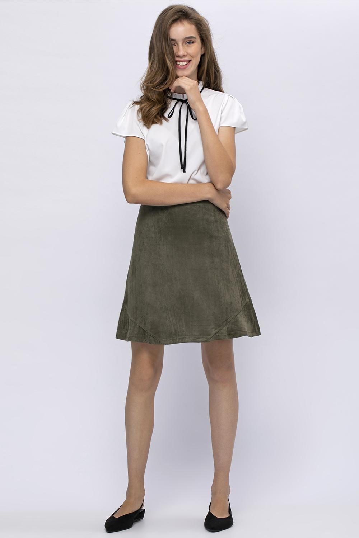 חצאית סוויד
