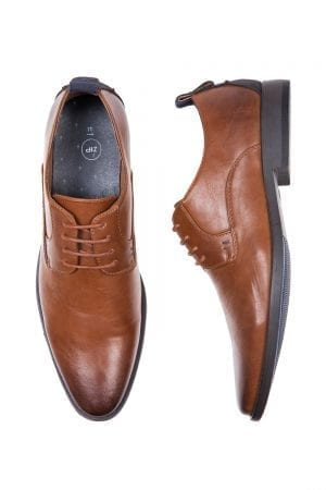 נעלי דרבי אלגנטיות דמוי עור