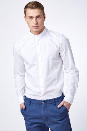 חולצת לייקרה מתפרים בגזרה צרה