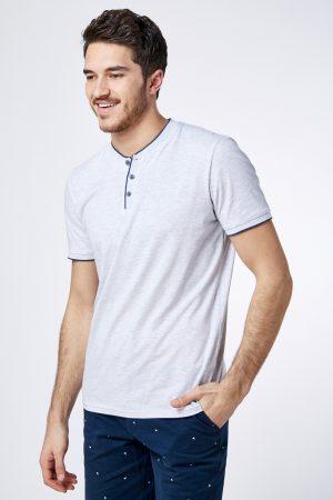 חולצת טי סבא כפתורים