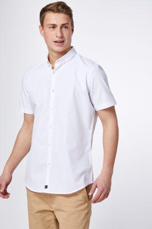 חולצה מכופתרת אלגנטית טקסטורה