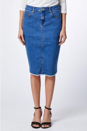 חצאית ג'ינס