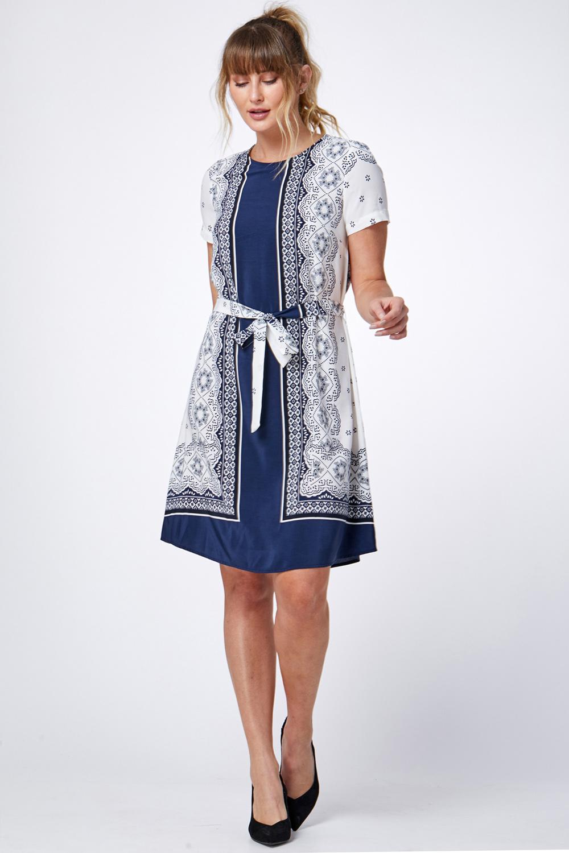 שמלת בנדנה-פייזלי