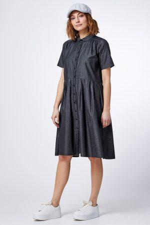 שמלת ג'ינס אוברסייז