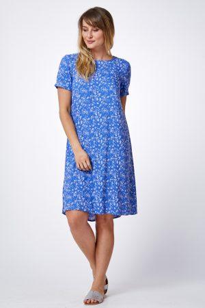 שמלת פרומו מודפסת