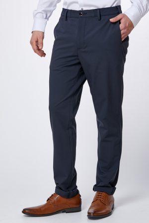 מכנס אלגנט חגיגי עם שילוב גומי בחגורה