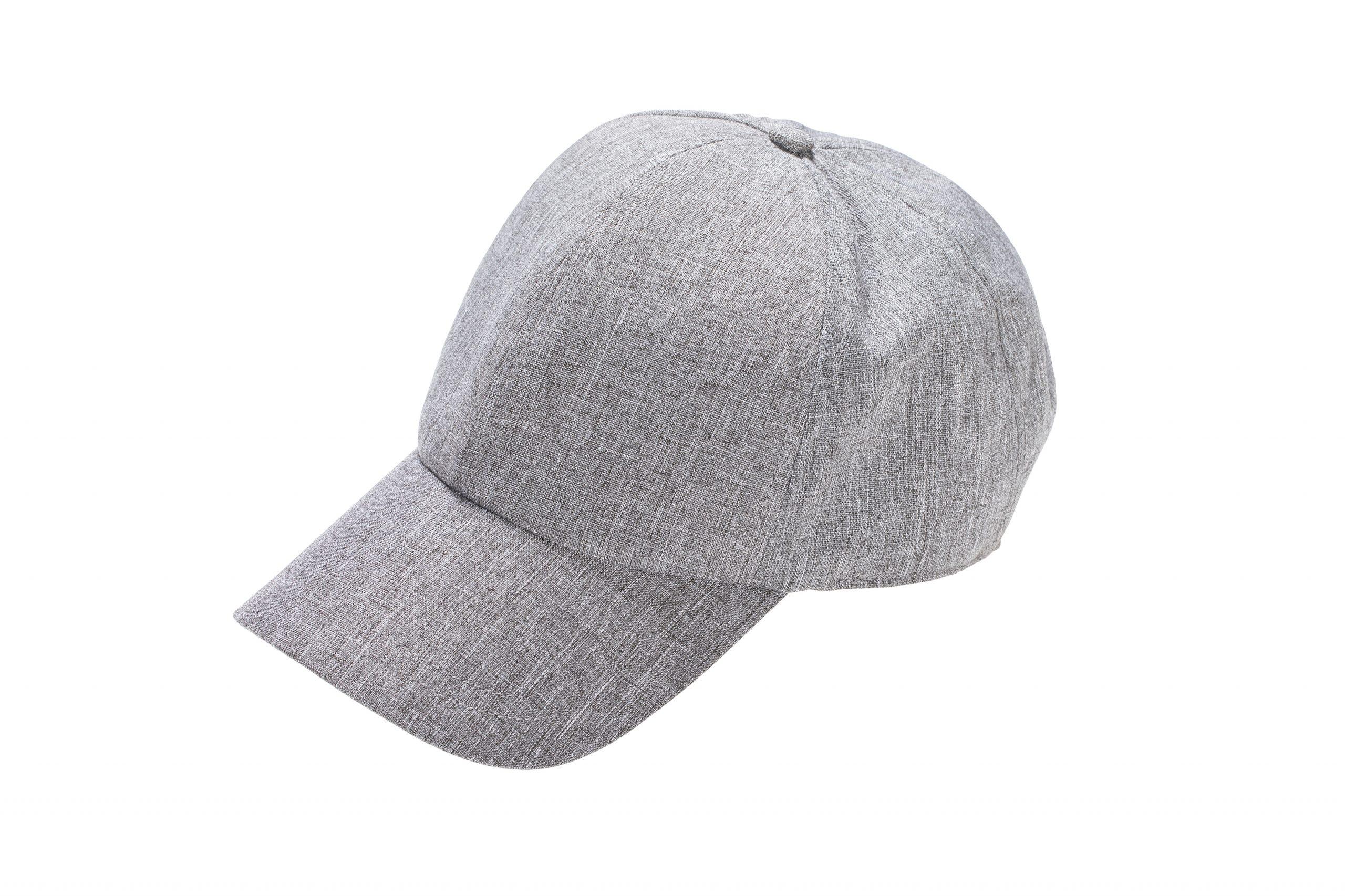 כובע מצחיה אפור מלנש